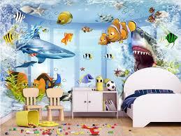 3d Wallpaper Photo Wallpaper Custom Kids Room Mural Shark Undersea World Painting Picture 3d Wall Murals Wallpaper For Walls 3d Mural Wallpaper For Walls Wallpaper For Walls 3d3d Wall Murals Wallpaper Aliexpress