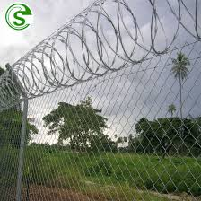 China High Security Perimeter Fencing Dark Green Vinyl Coated Cyclone Wire Mesh Fence Philippines China Cyclone Wire Mesh Fence High Security Fence