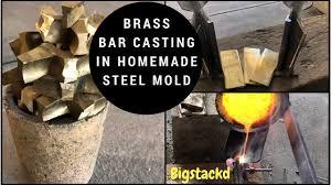 br bars in homemade steel mold