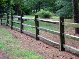 Wood Split Rail Fence Installation Anderson Fence Company