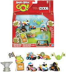 Amazon.com: Angry Birds Go Mega Mayhem Pack: Toys & Games