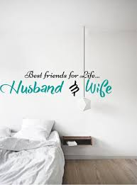 Husband And Wife Wall Decal Best Friends Sticker For Life Etsy