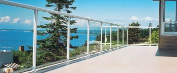 Aluminum Deck Railing Glass Railing Powdercoated Aluminum Picket Railing And Fencing Systems For Canada And The United States