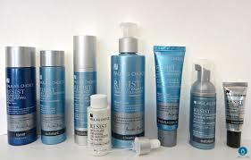 skin care routine with paula s choice