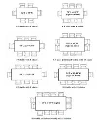8 person square dining table dimensions
