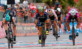 Caleb Ewan wins dramatic sprint as ...