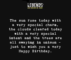 legends are born in quote image happy birthday