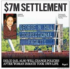 $7M settlement in suit filed against Delco prison by kin of inmate ...