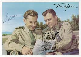 Image result for Yuri A. Gagarin, the first man in space, and Gherman S. Titov. Glenn,
