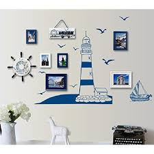 Kaimao Diy Lighthouse And Sailing Wall S Buy Online In Guernsey At Desertcart