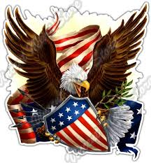 3 5 Flag Patriot Bald Eagle American Pride Usa Car Bumper Vinyl Sticker Decal 4 6 Ebay Collectibles Eagle Drawing Bald Eagle Patriotic Pictures
