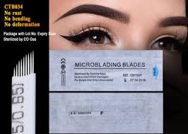 permanent makeup eyebrow blade