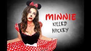 evil minnie mouse make up horia