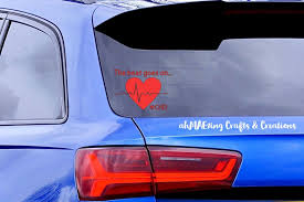 The Beat Goes On Decal Car Decal Chd Car Sticker Laptop Etsy