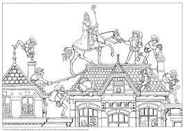 Kleurplaat Het Verhaal Van Sinterklaas 1 Sinterklaas