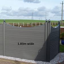 Graphite Composite G Boards 1 83m W X 0 3m H Lemon Fencing Specialist In Essex Https Lemonfencing Co Uk