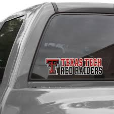 Texas Tech Red Raiders Wincraft Stacked Perfect Cut Decal