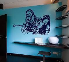 Amazon Com Chewbacca Star Wars Nursery Room Kids Bedroom Wall Sticker Decal Wall Art Decor G7274 2 Home Kitchen