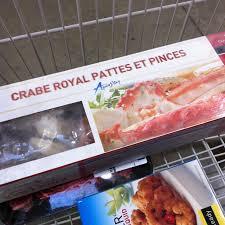 Alaskan King Crab, macarons and a ...
