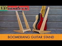 how to make a modern guitar stand you