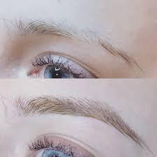 eyebrow hair stroke permanent makeup