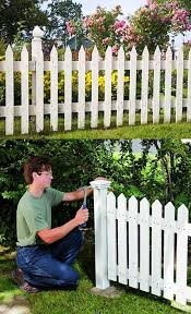 24 Unique Do It Yourself Fences That Will Define Your Yard Diy Garden Fence Backyard Fences Fence Design