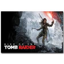 Rise Of The Tomb Raider Lara Croft Game Art Silk Poster 24x36inch 24x43inch 05 Zebra Wall Stickers Art Deco Wall Stickers From Wangzhi Hao8 12 05 Dhgate Com