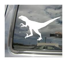 Velociraptor Raptor Dinosaur Auto Quality Window Wall Vinyl Decal Sticker 01057 Ebay
