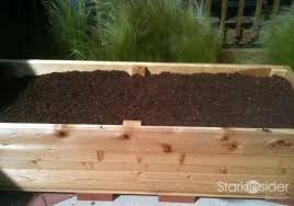 build a vegetable planter box with