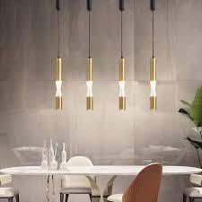 led pendant lamp long light