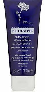 klorane fl gel eye makeup remover
