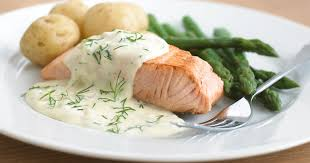 kcook salmon with dill sauce recipe