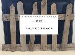 How To Make A Wood Pallet Halloween Fence Citygirl Meets Farmboy