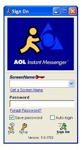 AOL Instant Messenger - How long was your buddy list? : nostalgia