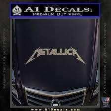 Metallica Decal Sticker Dt A1 Decals