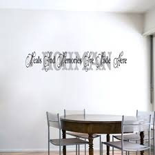 Custom Meals And Memories Wall Decals Wall Decor Stickers