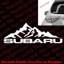 Subie Mountain Life Vinyl Decal Car Window Laptop Sticker Subaru Wrx Off Road