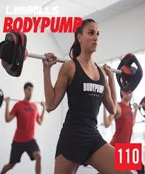 les mills body pump 110