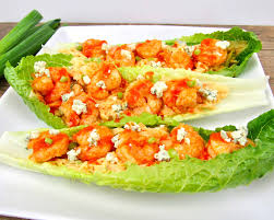 Easy Buffalo Shrimp Lettuce Wraps ...