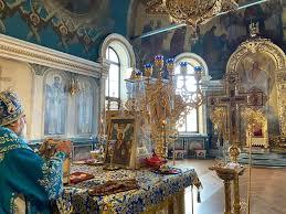 Служение митр.НИКОНА в праздник Благовещения Пресвятой Богородицы    Уфимская епархия Русской Православной Церкви (МП)