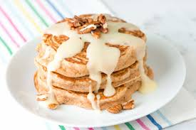cinnamon pancakes recipe with a