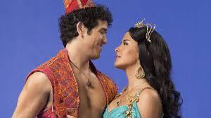 Adam Jacobs as Aladdin and Courtney Reed as Jasmine | Aladdin musical,  Aladdin broadway, Aladdin costume