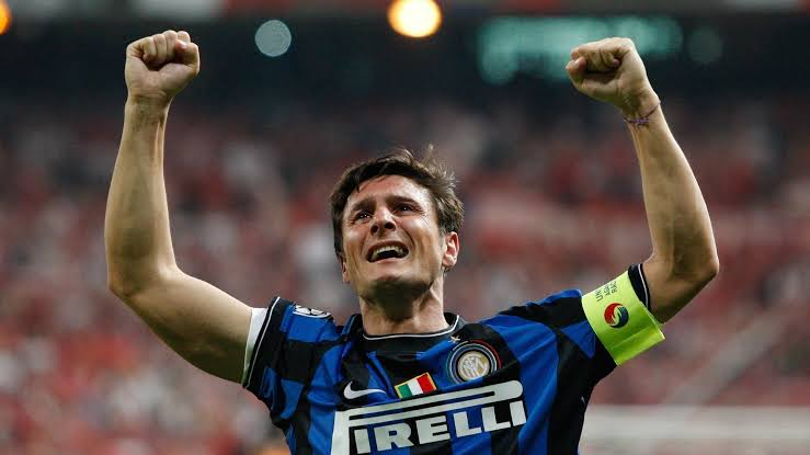 Image result for Javier Zanetti inter""