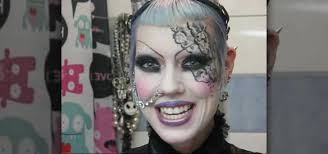 gothic lace makeup look makeup