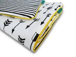 reversible nursery bedding set arrows