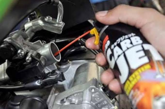 """Hasil gambar untuk cara membersihkan karbu motor injeksi"""""""
