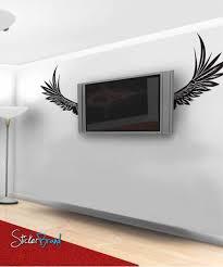 Vinyl Wall Decal Sticker Angel Wings 324 Stickerbrand