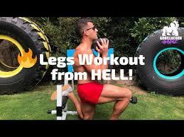 bj gaddour lower body exercises