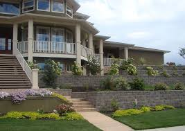 front yard landscaping ideas retaining