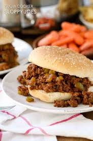 slow cooker sloppy joes spend with